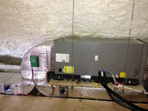 Our company installs complete heating, ventilation, and air conditioning (HVAC) systems.